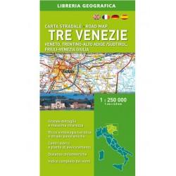 Carta Stradale Tre Venezie