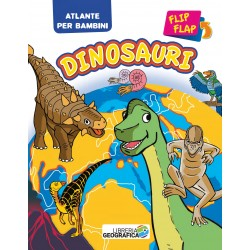 Atlante Flip Flap Dinosauri