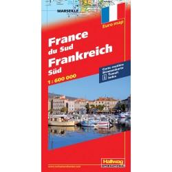 Francia del Sud-France du Sud-Frankreich Sud 1:600.000