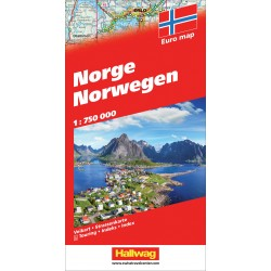 Norvegia-Norge-Norwegen 2017 1:750.000