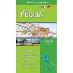 Carta Stradale Puglia Ediz. 2017