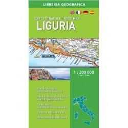 Carta Stradale Liguria 1: 200 000
