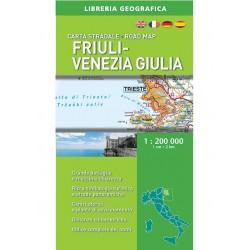 Carta Stradale Friuli Venezia Giulia 1: 200 000