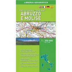 Carta Stradale Abruzzo e Molise 1: 200 000