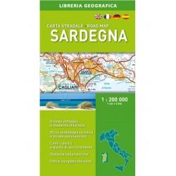 Carta Stradale Sardegna 1: 200 000 Ediz. 2017