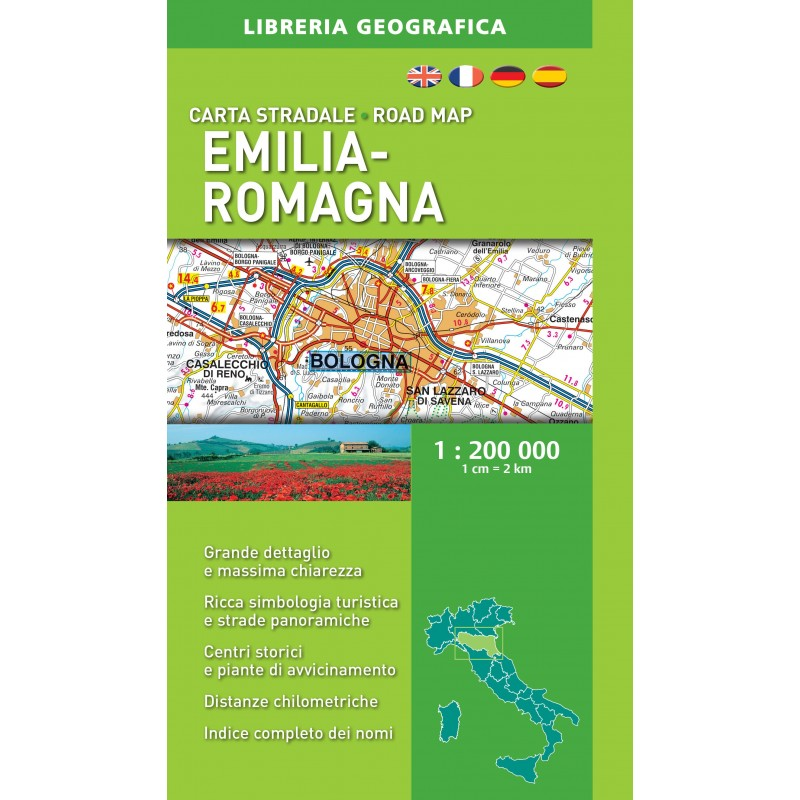 Carta Stradale Emilia-Romagna Ediz. 2016