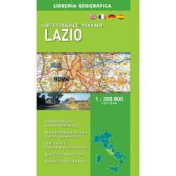 Carta Stradale Lazio Ediz. 2016