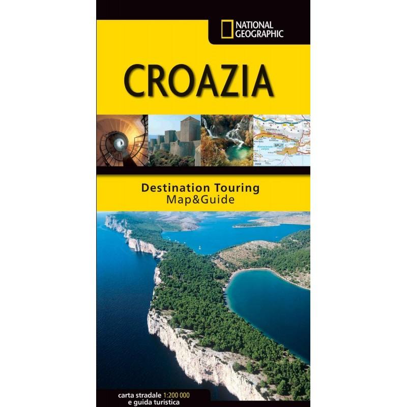 Croazia - Carta Stradale e Guida Turistica
