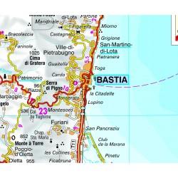 Corsica - Carta Stradale e Guida Turistica