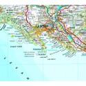 Liguria - Carta Stradale e Guida Turistica