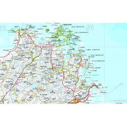 Carta Stradale della Sardegna 1: 200 000 Ediz. 2018