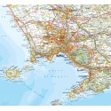 Carta Stradale Campania e Basilicata 1: 200 000 Ediz. 2018
