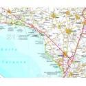 Carta Stradale della Puglia 1: 200 000 Ediz. 2018
