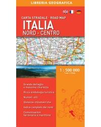 Cartina Stradale Italia Centro Nord.Carta Stradale Italia Centro Sud Libreria Geografica