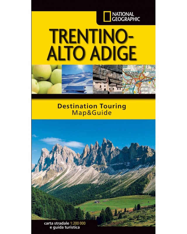 Cartina Stradale Del Trentino Alto Adige.Carta Stradale E Guida Turistica Del Trentino Alto Adige Libreria Geografica