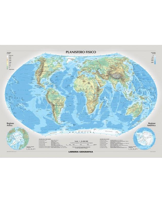 Planisfero fisico