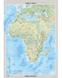 Africa fisica e politica
