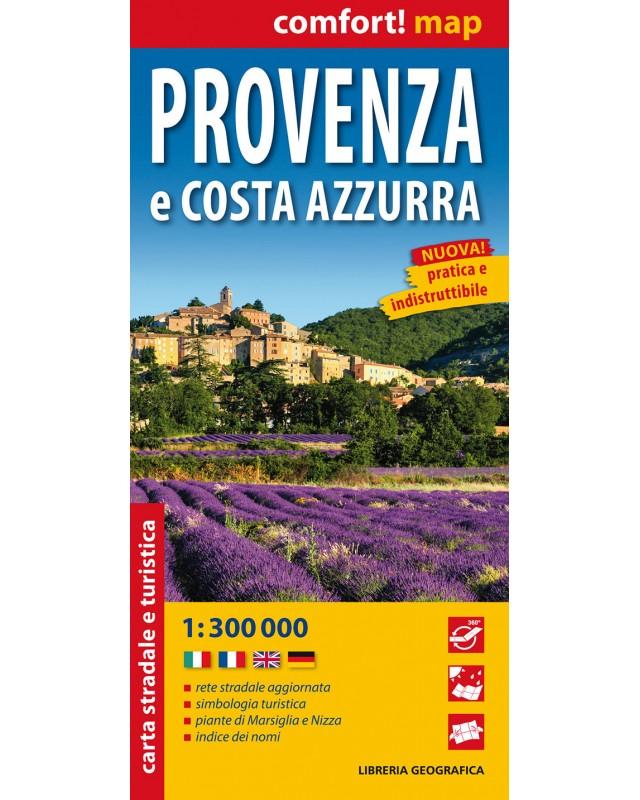 Cartina Stradale Costa Azzurra.Comfort Map Provenza E Costa Azzurra Libreria Geografica
