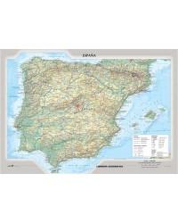 Spagna fisico-politica -...