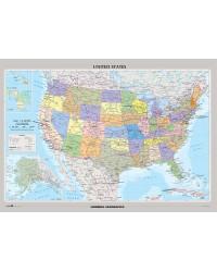 Stati Uniti d'America mappa...