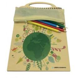 Libro Gioco Bandiere (con puzzle e astuccio colori)